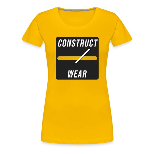 constructwear. Future design - Frauen Premium T-Shirt