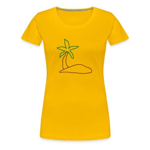 Affäre? Ich? Nicht nur auf Ibiza!!! - Frauen Premium T-Shirt