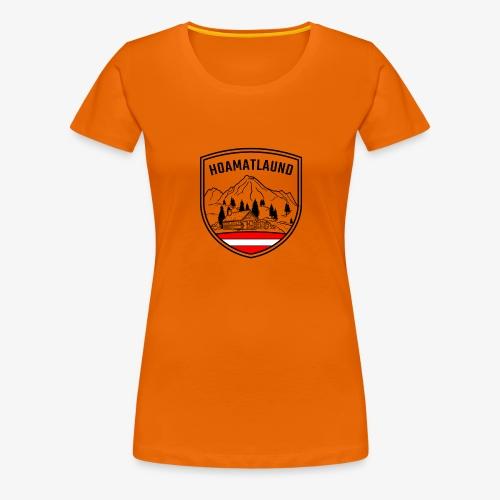 hoamatlaund österreich - Frauen Premium T-Shirt