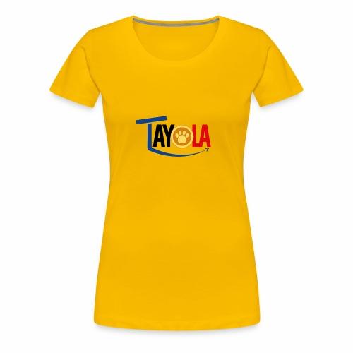 TAYOLA Nouveau logo!!! - T-shirt Premium Femme