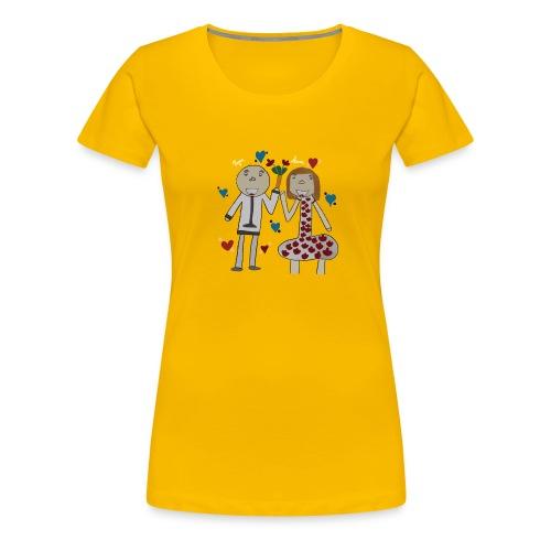 Hommage an alle Eltern - Frauen Premium T-Shirt