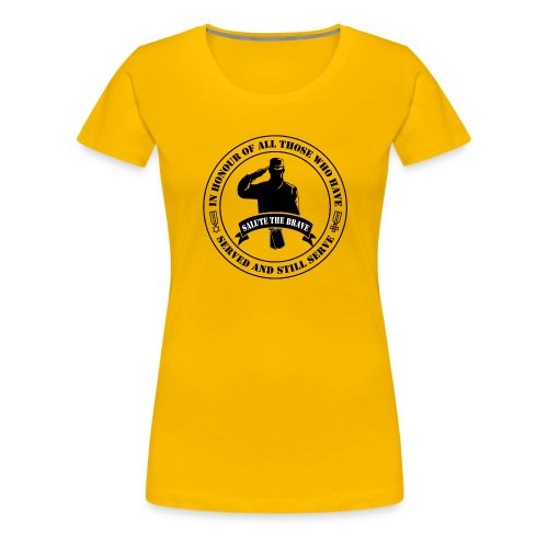 German Military Veteran - Women's Premium T-Shirt