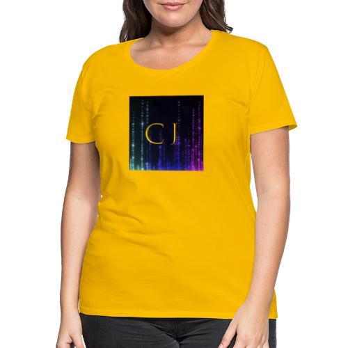 CJ Logo Merchandise - Dame premium T-shirt
