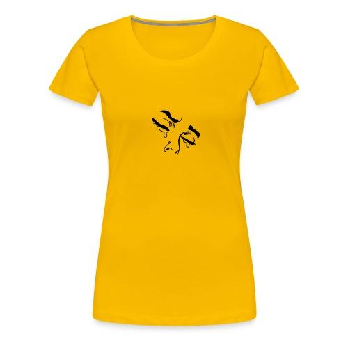 Crying eyes - Frauen Premium T-Shirt
