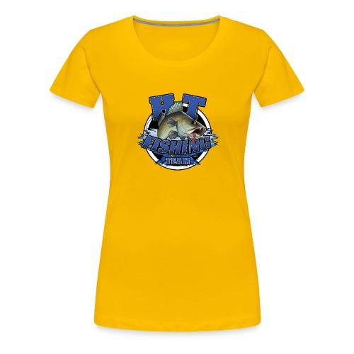 HT Fishing Team - Naisten premium t-paita