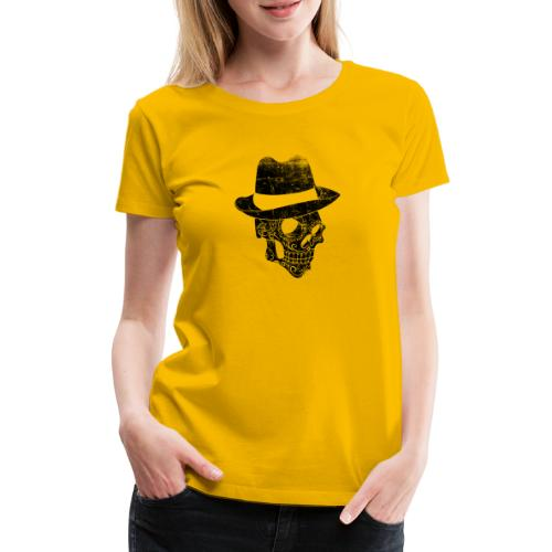 Gangster Totenkopf - Frauen Premium T-Shirt