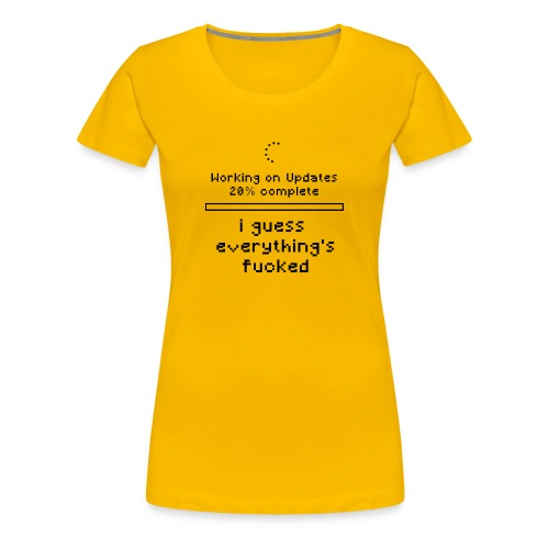 Sysadmin - Administrator - ITler - IT Support - Frauen Premium T-Shirt