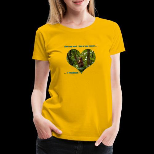 Oachkatzl hellblau - Frauen Premium T-Shirt