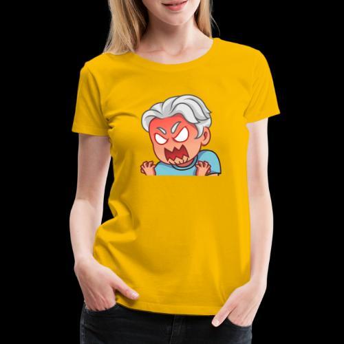 Locono Rage - Frauen Premium T-Shirt