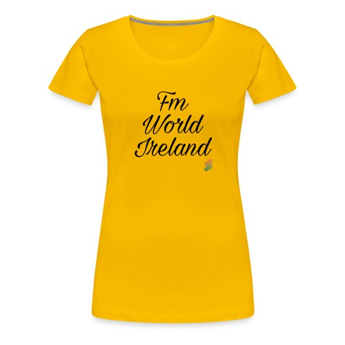 FM WORLD IRELAND - Women's Premium T-Shirt