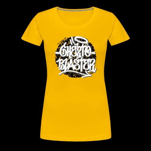 logo ghe2toblaster ...019 - T-shirt Premium Femme