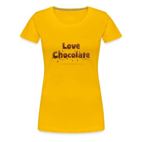 Love Chocolate - Women's Premium T-Shirt