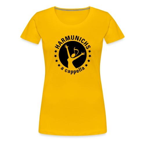 logo sw ausgeschnitten Zeichenfla che 1 - Frauen Premium T-Shirt
