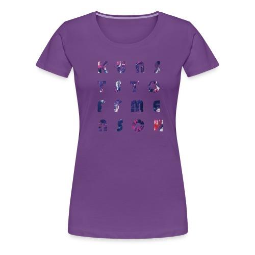 KunstStoffMensch #5 - Frauen Premium T-Shirt