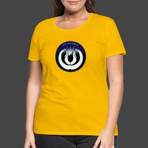 Luna sus scrofa - der Schweinemond von Jägershirts - Frauen Premium T-Shirt