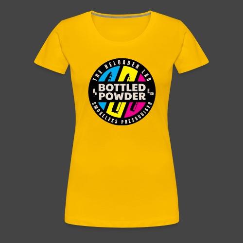 """""""Bottled Powder""""-Shirt für Wiederlader - Frauen Premium T-Shirt"""