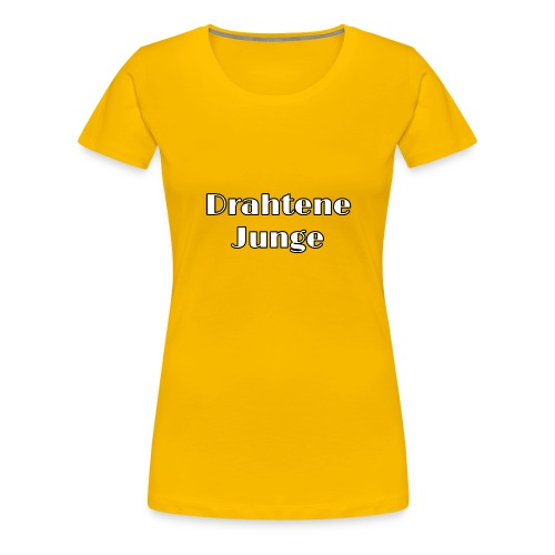 Drahtene Junge - Frauen Premium T-Shirt