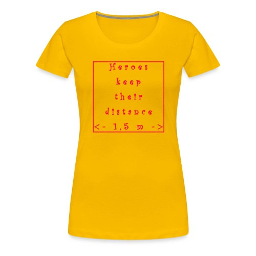 Fight COVID-19 #7 - Frauen Premium T-Shirt