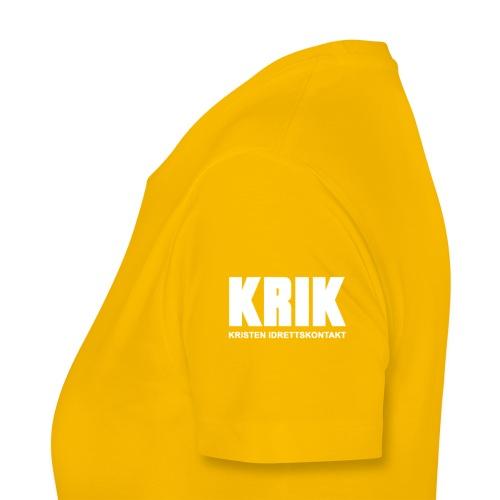 KRIK Klatring Oslo + KRIK - Premium T-skjorte for kvinner