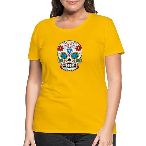 skull5 - Maglietta Premium da donna