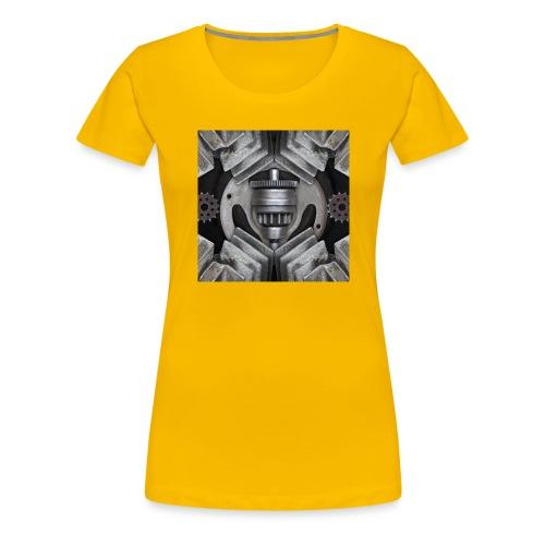 metalen motor onderdelen - Vrouwen Premium T-shirt