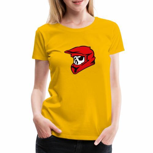 Schaedel Motocross - Frauen Premium T-Shirt