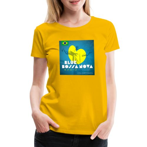 BLUE BOSSA NOVA RADIO - Women's Premium T-Shirt