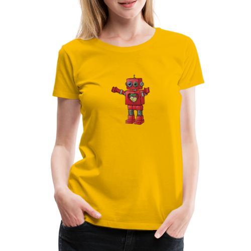 Brewski Red Robot - Camiseta premium mujer