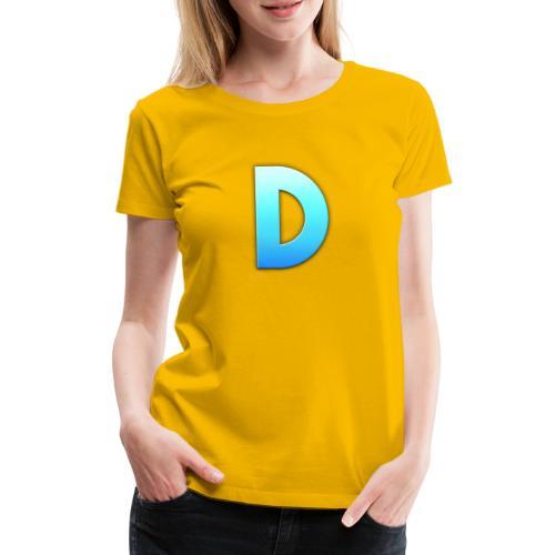 D LOGO - Camiseta premium mujer