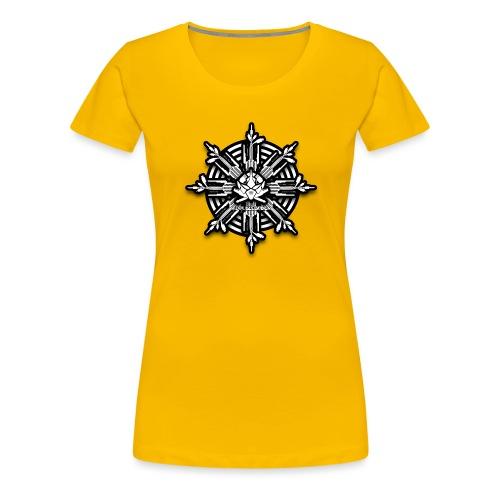 obm tech Cross - Frauen Premium T-Shirt