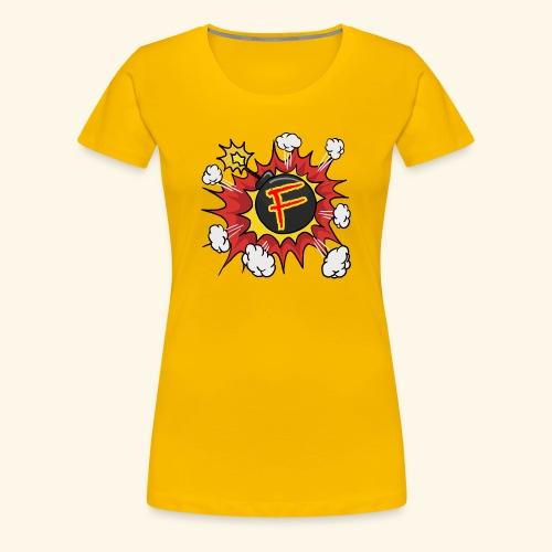 JustKally F Grenade - Women's Premium T-Shirt