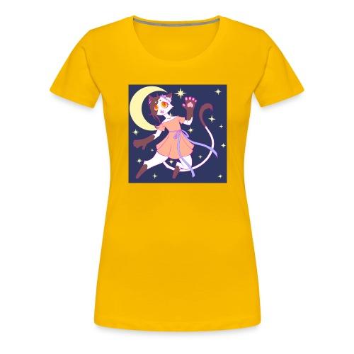 Lady Cat - Camiseta premium mujer