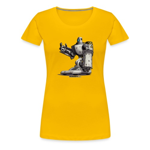 The S.H.I.E.L.D. Robot! - Dame premium T-shirt