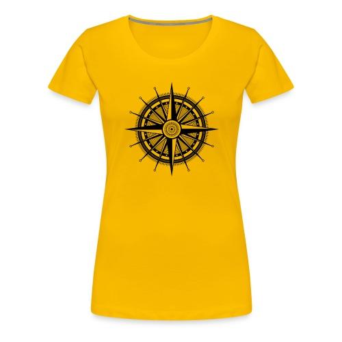Windrose - Frauen Premium T-Shirt