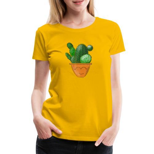Kleiner Kaktus - Frauen Premium T-Shirt
