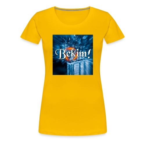 Bekim! Logo 2 @bekimmusic Musician Fan Merchandise - Frauen Premium T-Shirt
