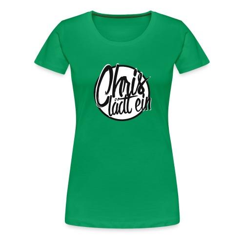 Chris lädt ein - Frauen Premium T-Shirt