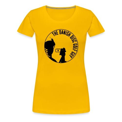 The Danish Disc Golf Guy Logo - Women's Premium T-Shirt