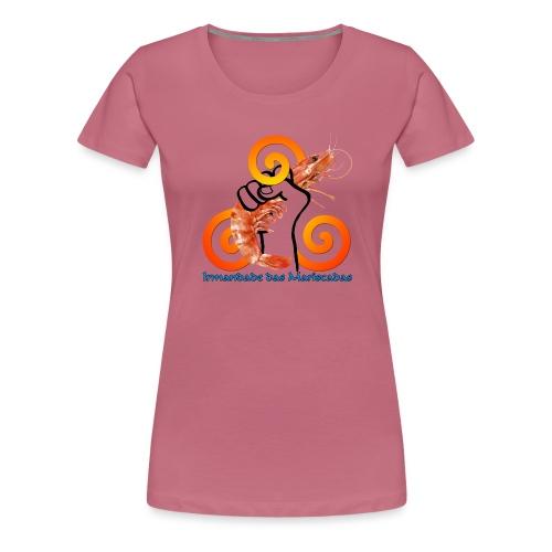Irmandade das Mariscadas - Camiseta premium mujer