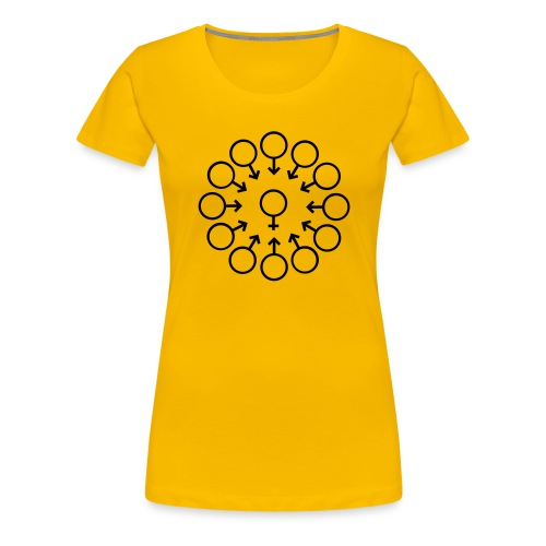 bukake - T-shirt Premium Femme