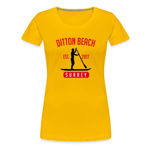 Ditton Beach Logo Final - Women's Premium T-Shirt