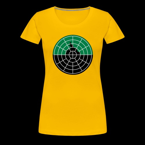 U-Boot Periskop - Frauen Premium T-Shirt