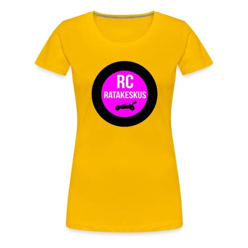 rc-ratakeskus kahvimuki - Naisten premium t-paita
