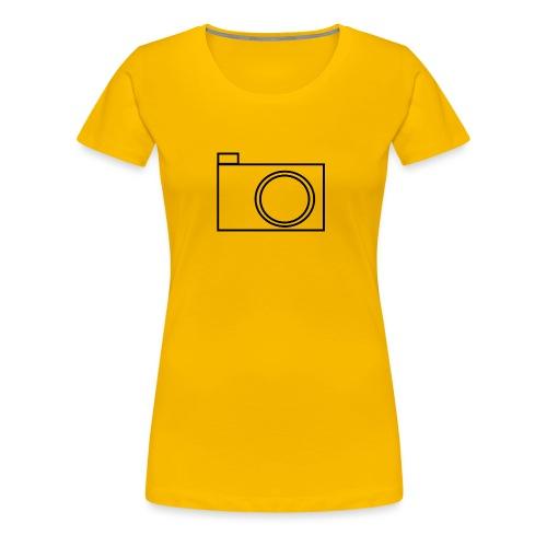 camera - Women's Premium T-Shirt