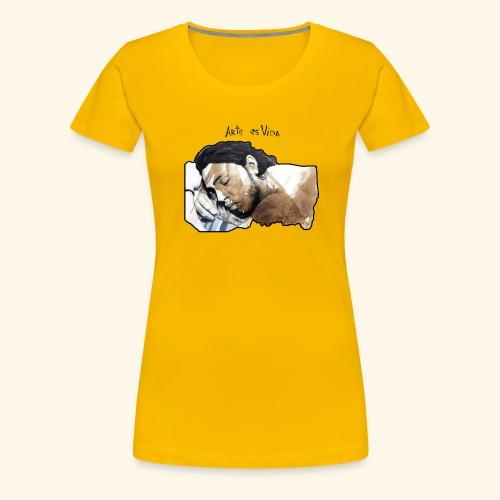 arte es vida - Camiseta premium mujer