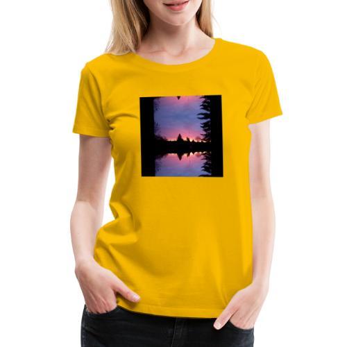 Gott ist Gut - Morgenrot - Frauen Premium T-Shirt