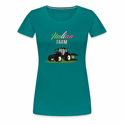 Italian Farm official T-SHIRT - Maglietta Premium da donna