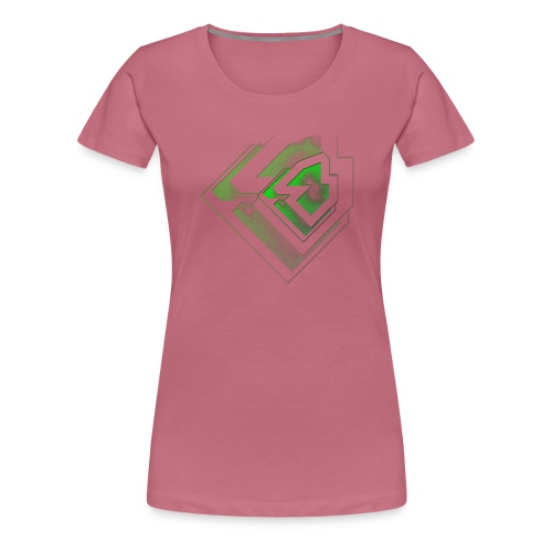 BRANDSHIRT LOGO GANGGREEN - Vrouwen Premium T-shirt