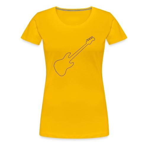 J Bass Line - Women's Premium T-Shirt