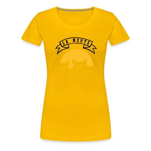 la meute - T-shirt Premium Femme